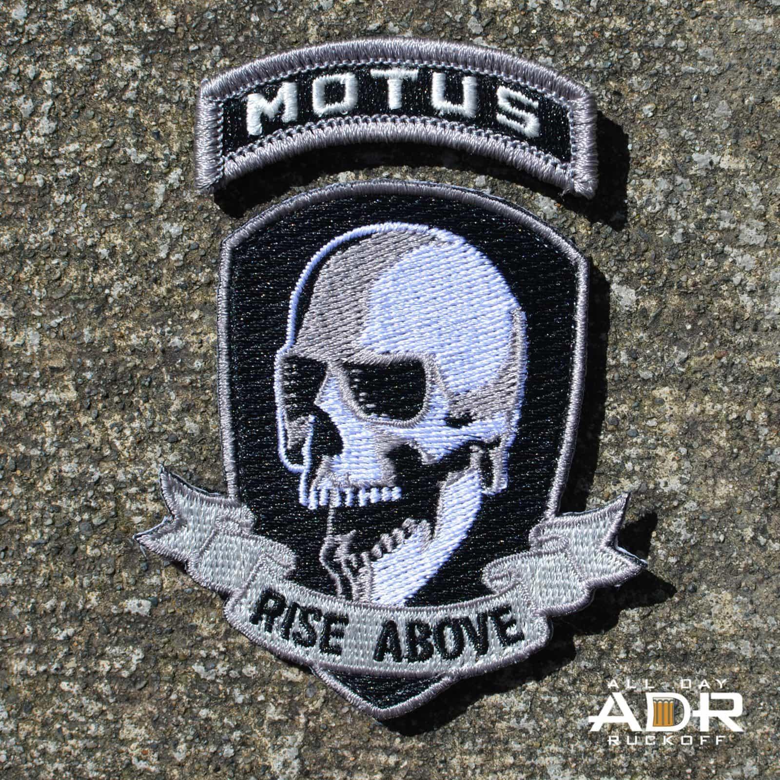 MOTUS Rise Above Patch