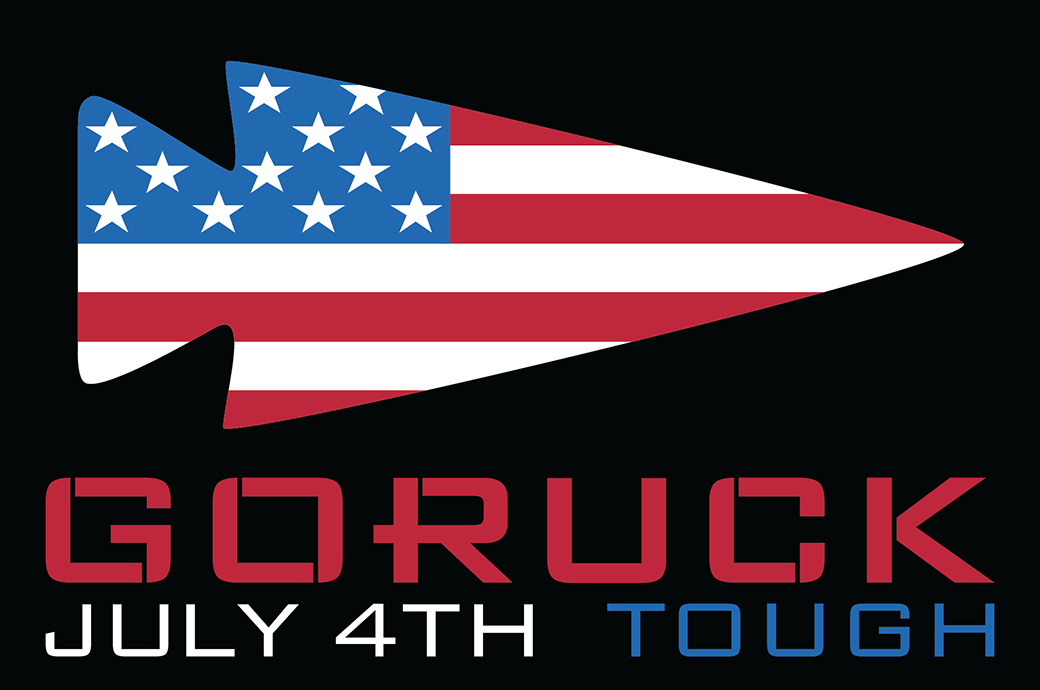 GORUCK 4th of July Patch
