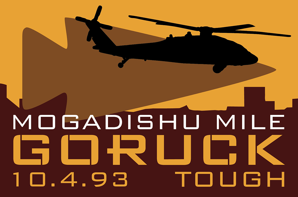 GORUCK Mogadishu Mile Patch