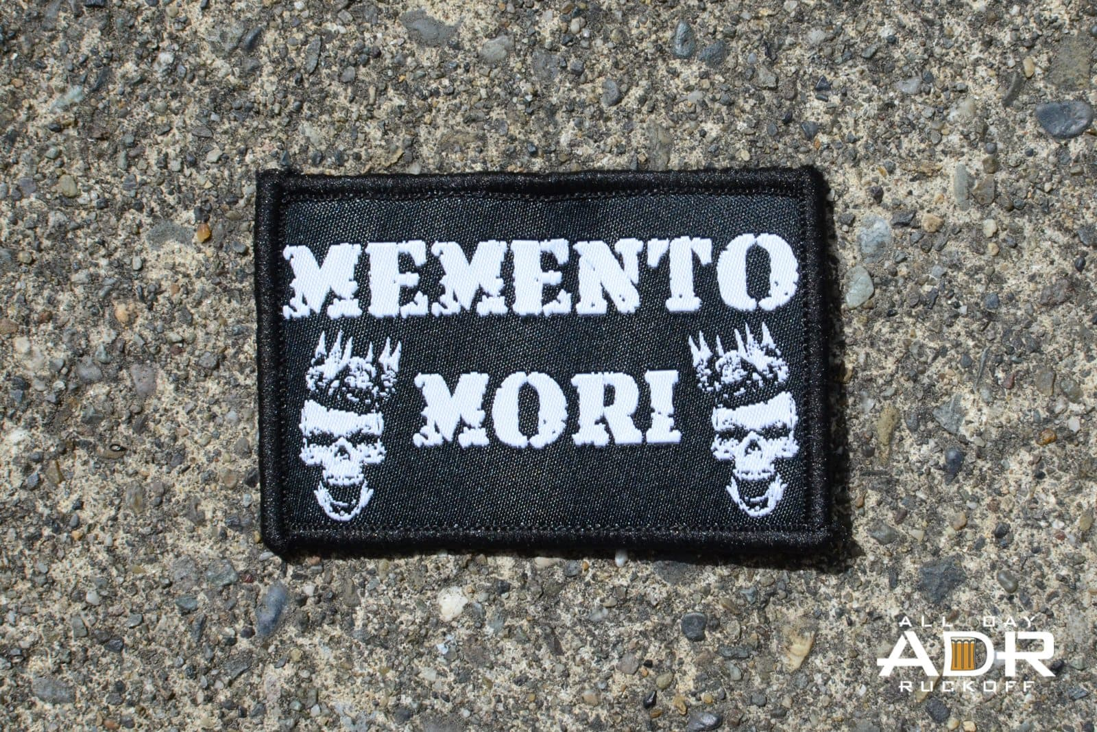 Memento Mori Patch