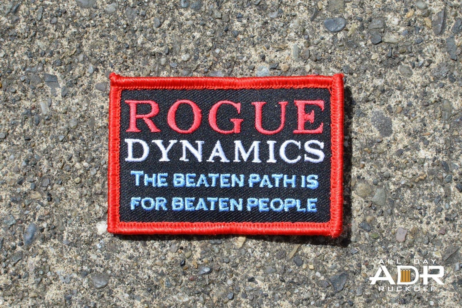 Rogue Motto Patch