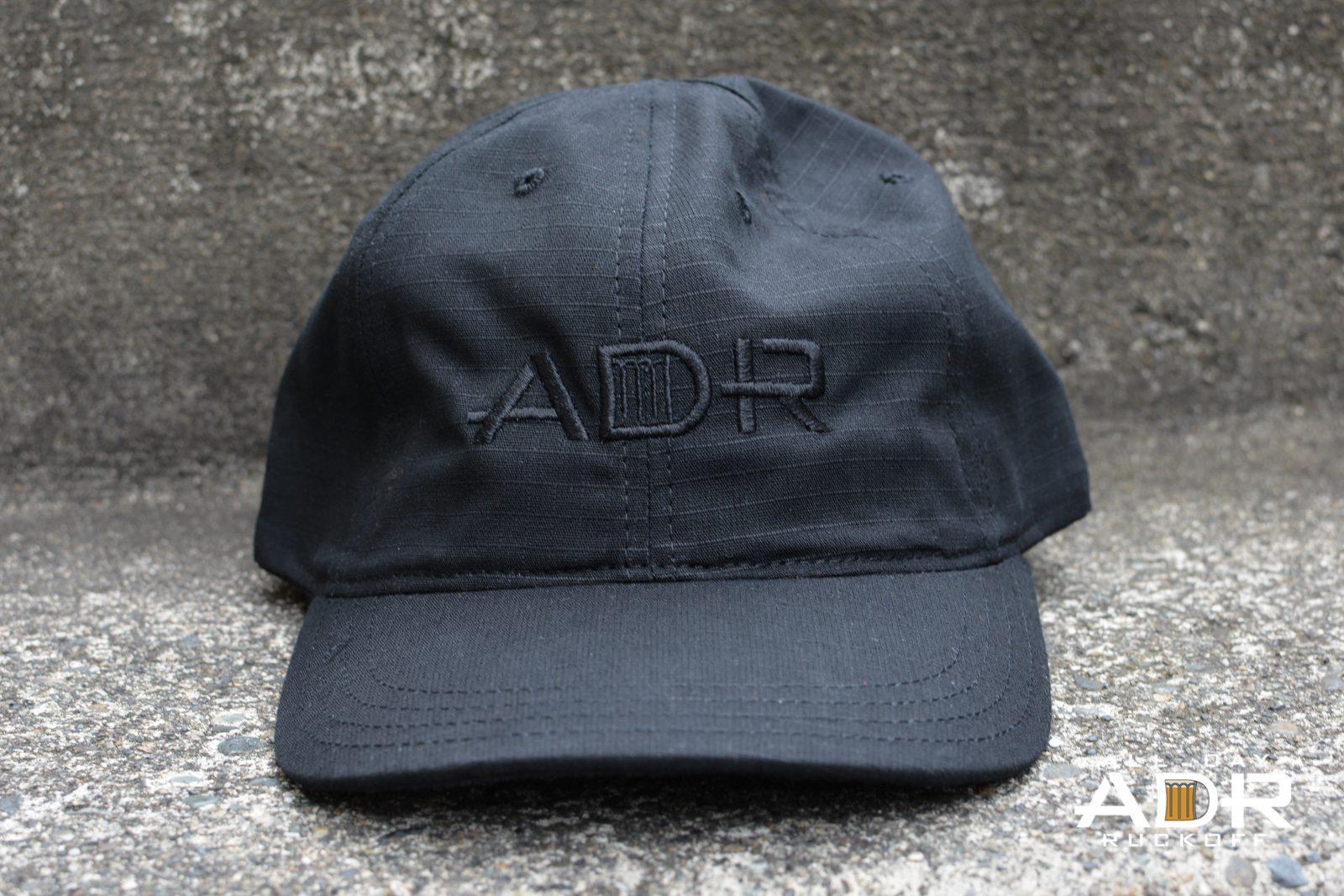 GORUCK ADR Tac Hat Black Wide