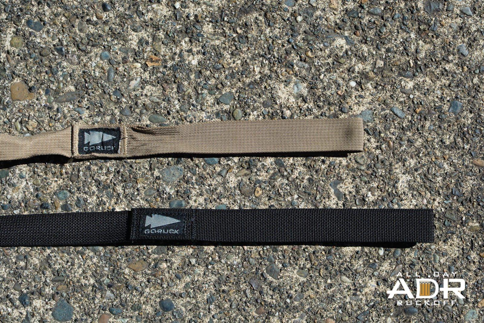 GORUCK Dog Leash Comparison Length