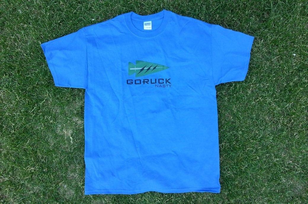 GORUCK Nasty Shirt Blue