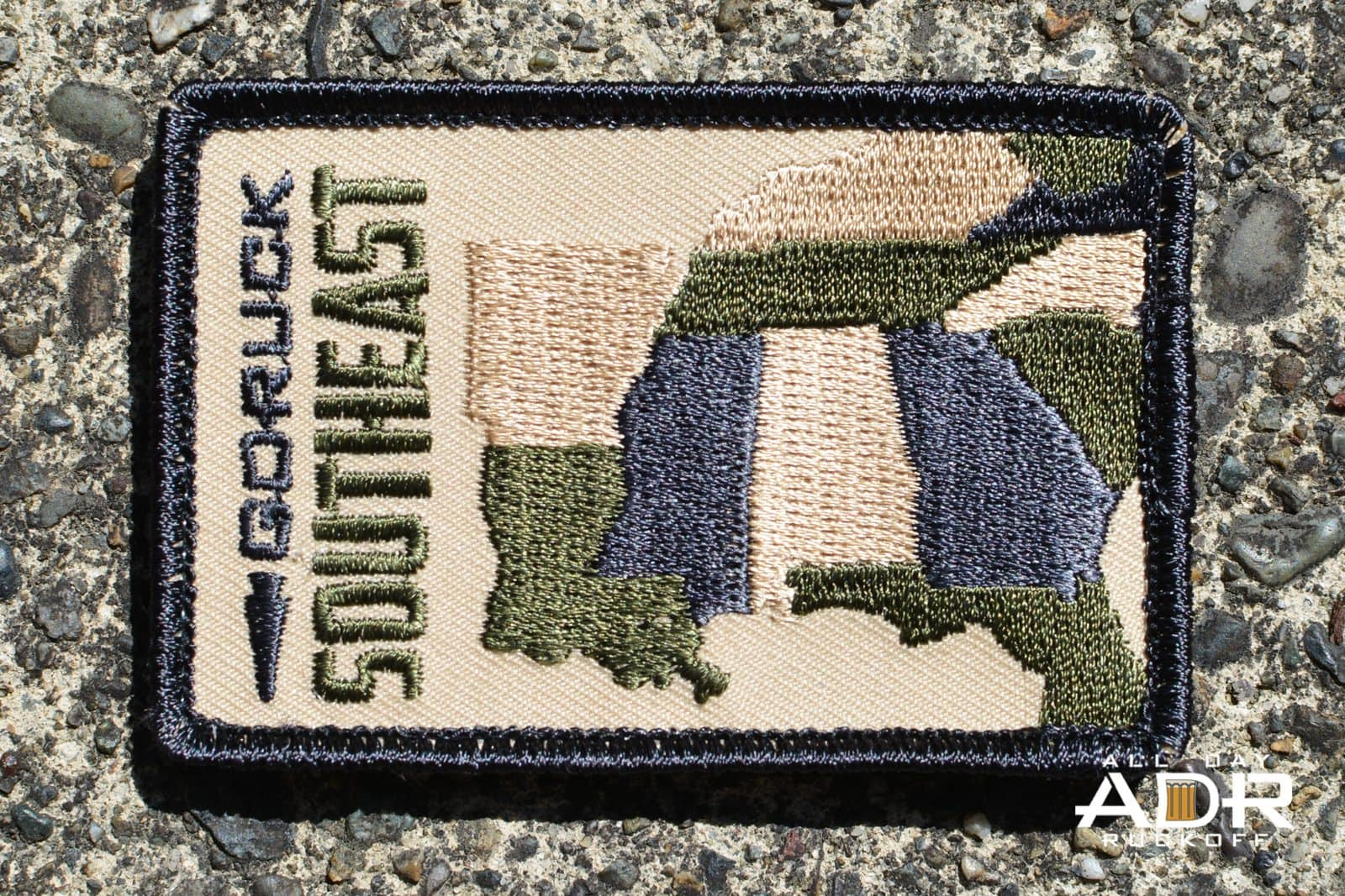 GORUCK SouthEast Patch Rectangle