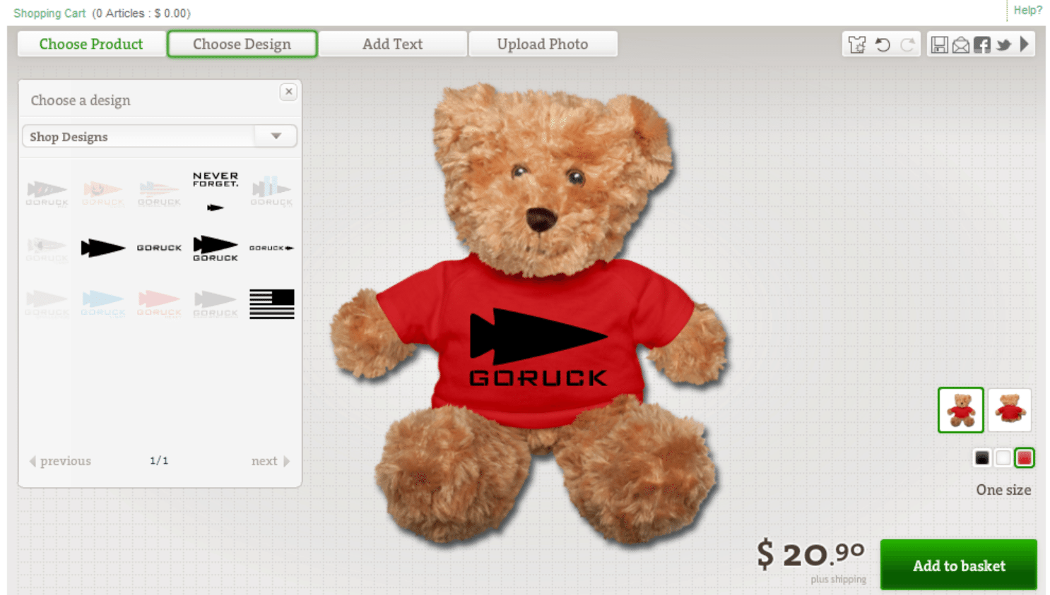 GORUCK Teddy Bear