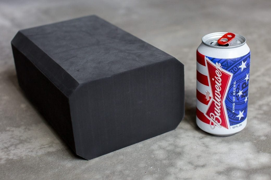 Yoga Block and Beer