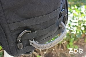 Fish Tail Handle On Ruck Wide