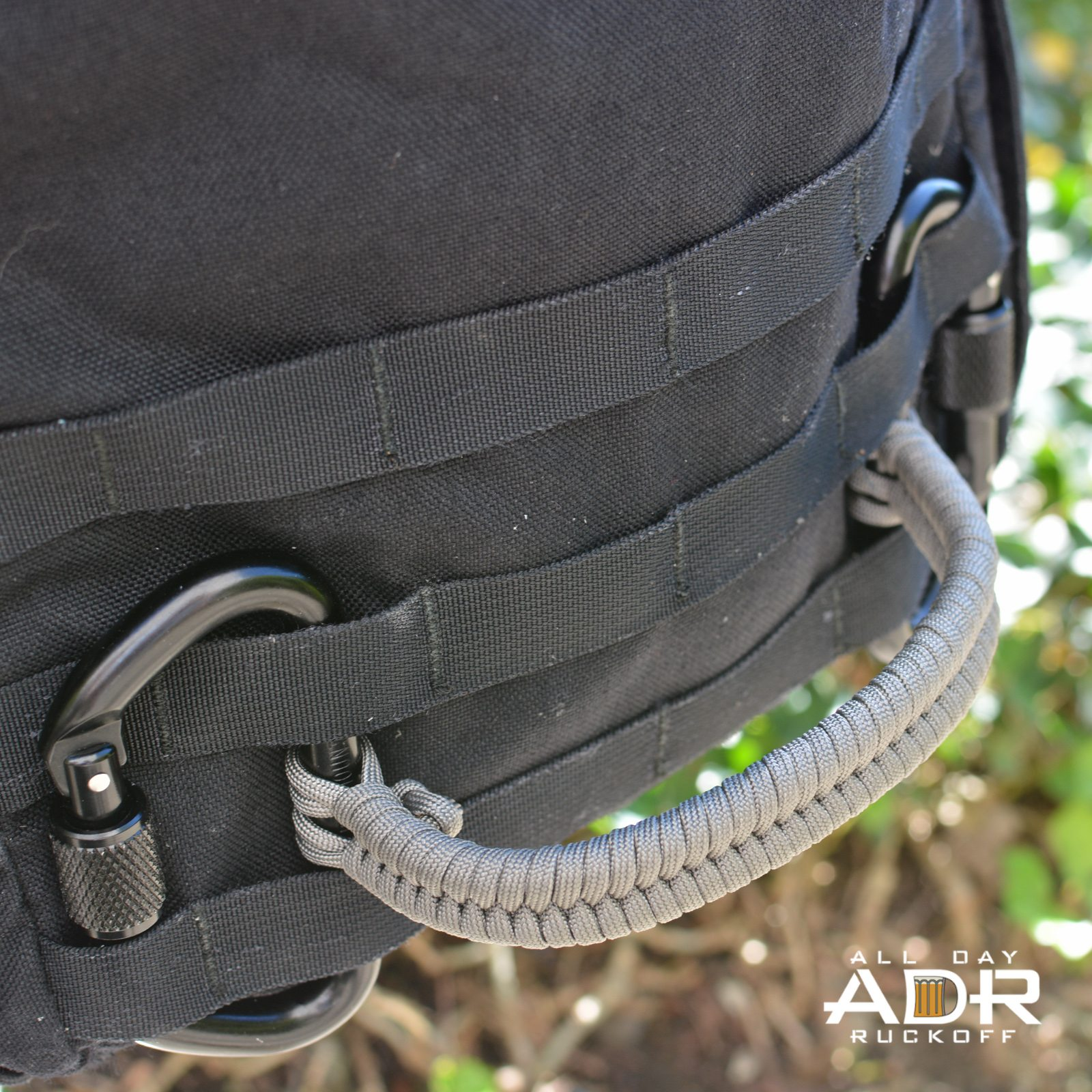Paracord Fishtail Handle - All Day Ruckoff