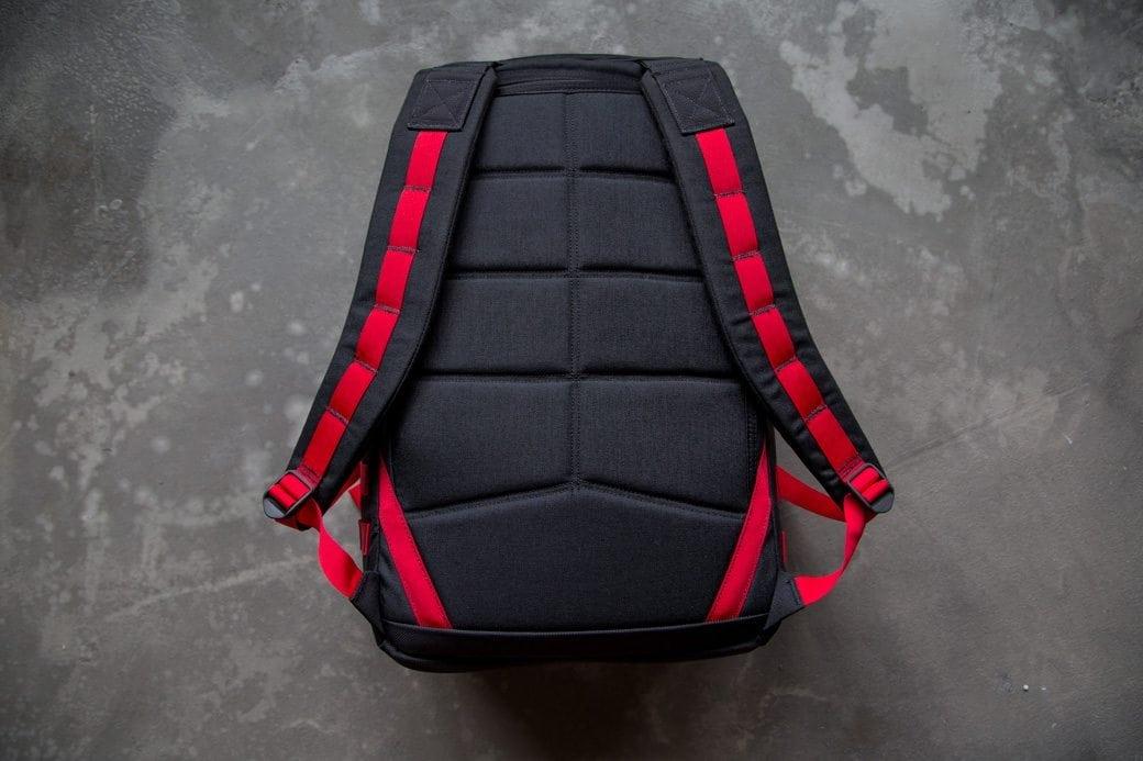 GORUCK GR1 Black Red Back
