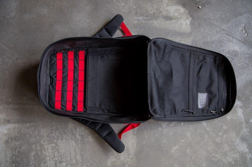 GORUCK GR1 Black Red Inside