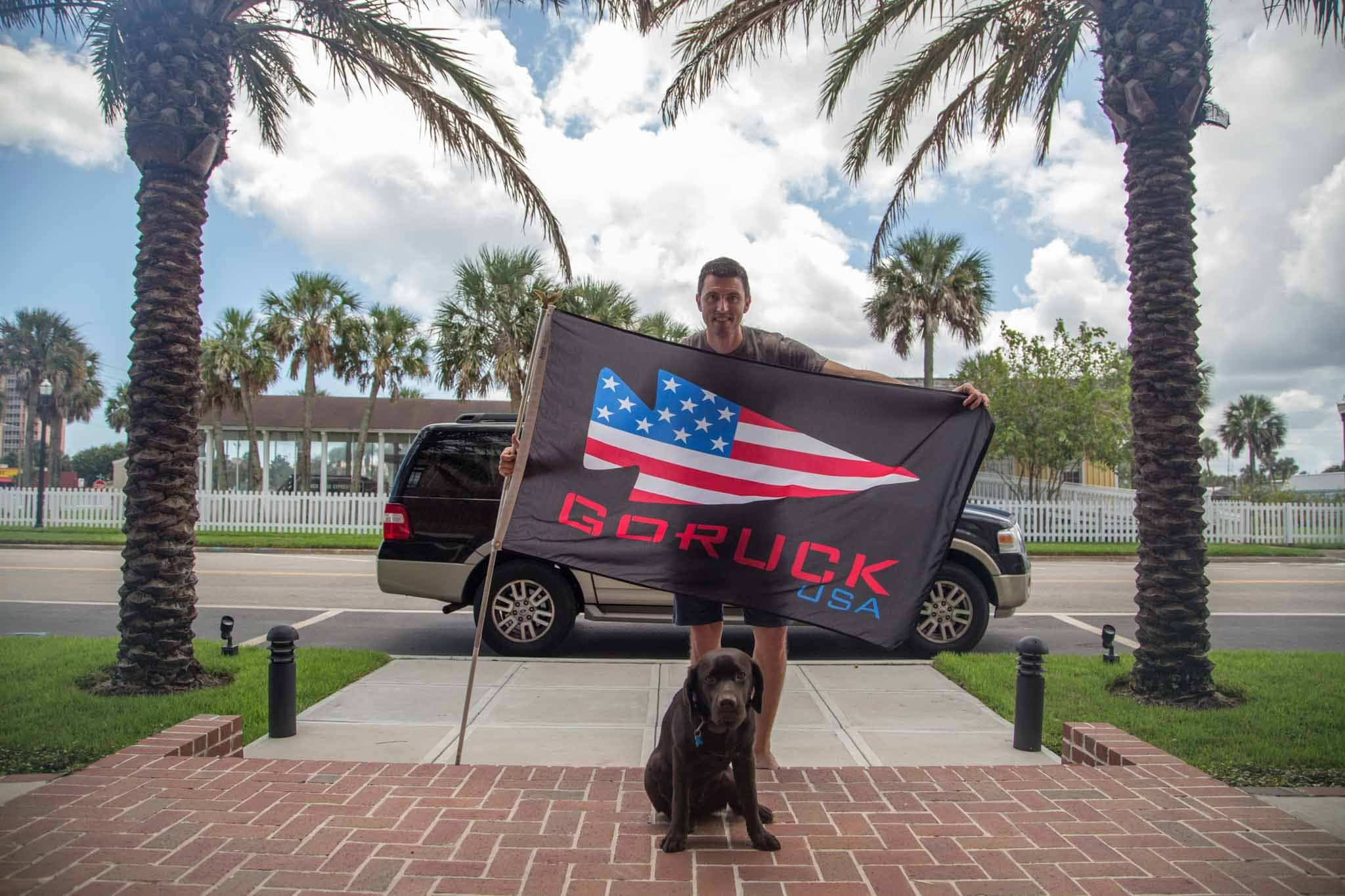 GORUCK USA Flag