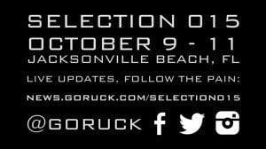 GORUCK Selection 015