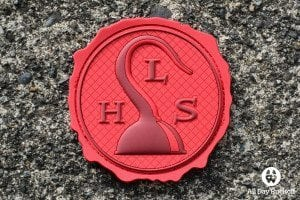 Hook And Loop Society Logo Patch