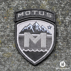 MOTUS Gray Patch