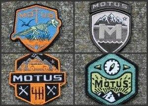 MOTUS Patches Featured