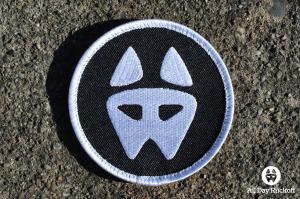 ADR Black White Logo Patch Rect
