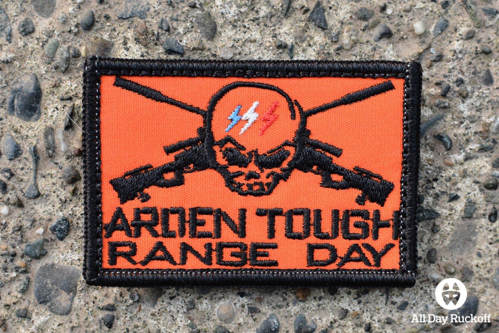 Arden Tough Range Day