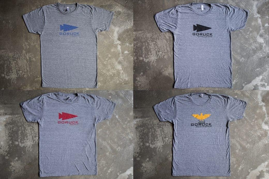 GORUCK Event Shirts Bundle