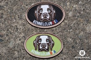 Kennel Club USA Patches