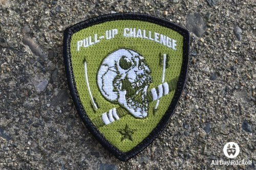Pull-Up Challenge Shield