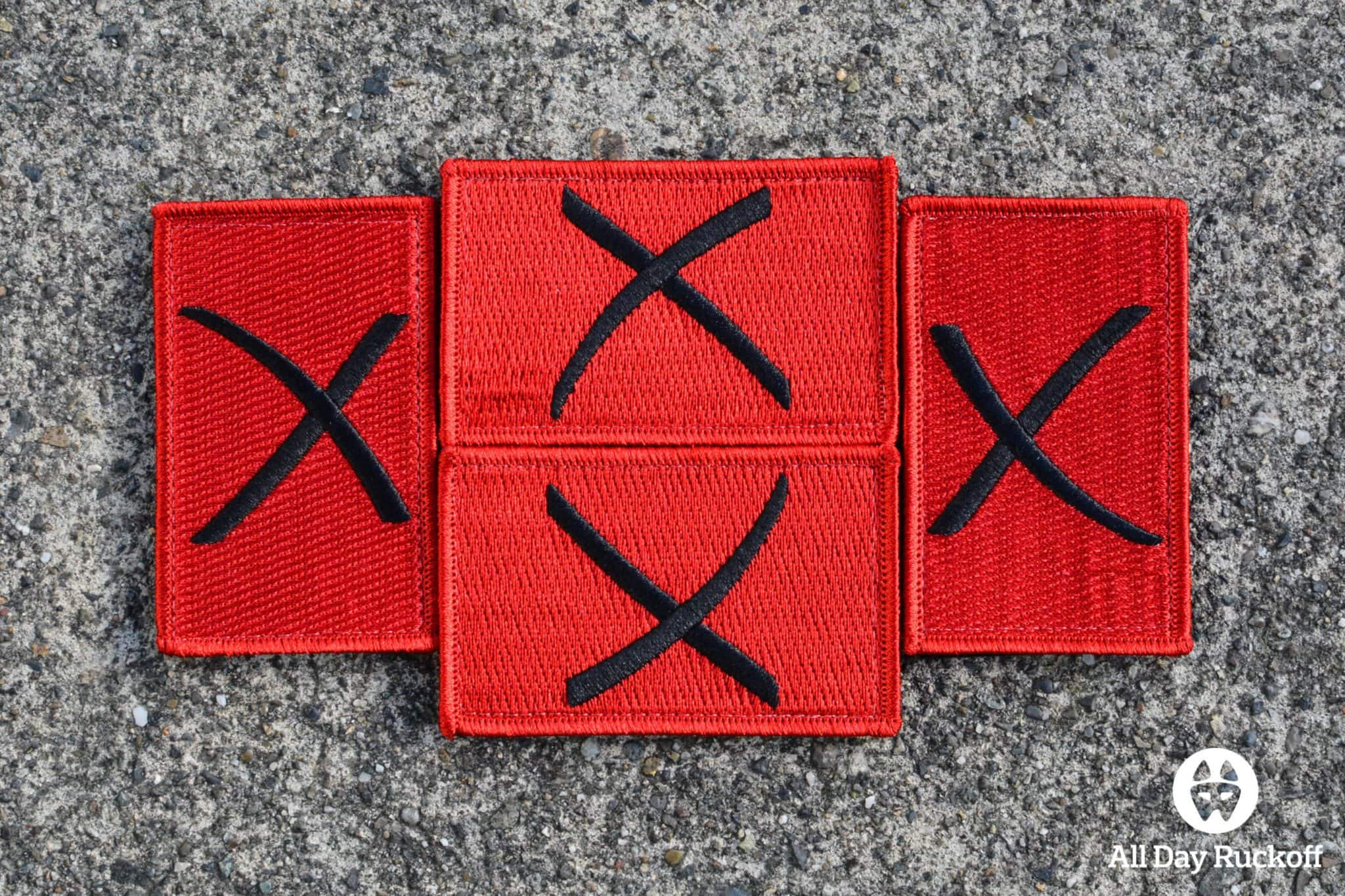Red X Patch