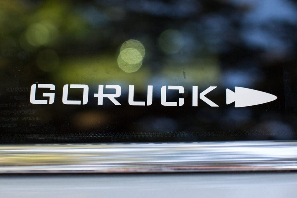 Goruck coupon code