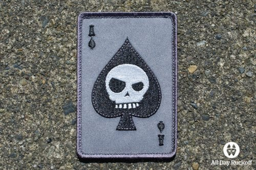 Death Card (Black/Grey)