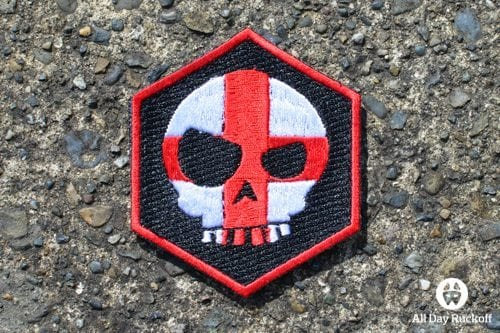TAD Mean T-Skull Cross Hex