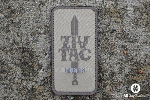 ZIVTAC Industries Logo (Khaki)