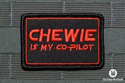 Chewie Is My Co-Pilot (Red)