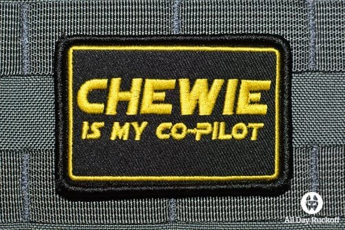 Chewie Is My Co-Pilot (Yellow)