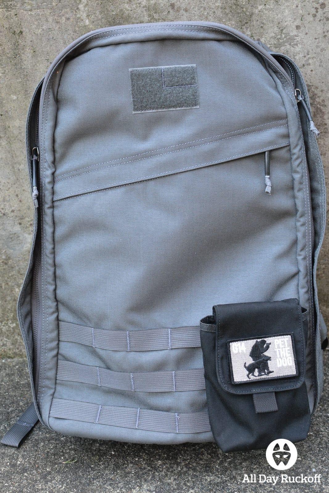 GORUCK Side Pocket Attached Back