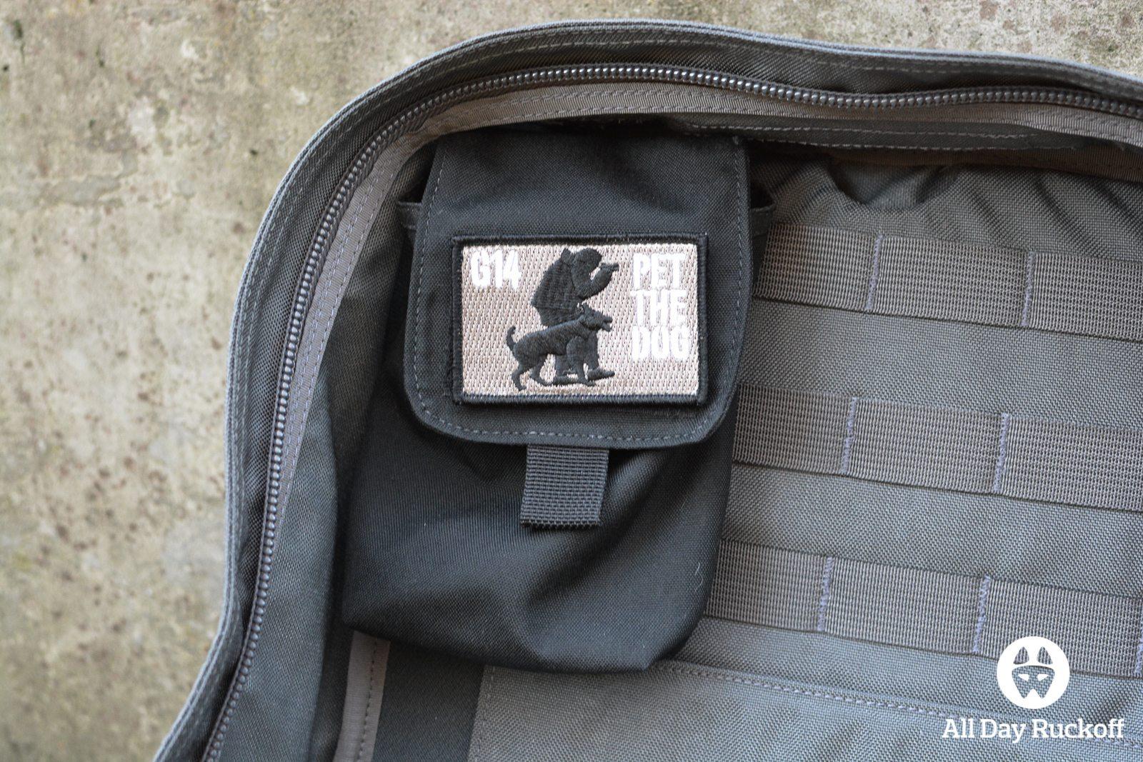 GORUCK Side Pocket Attached Inside