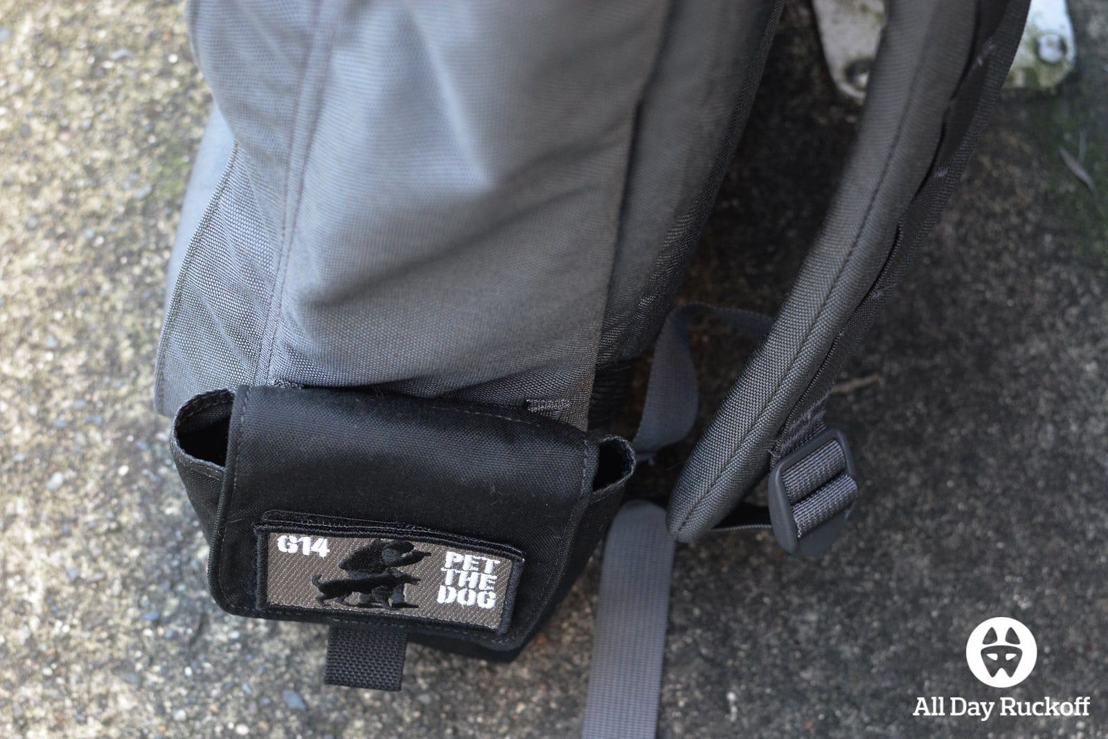 GORUCK Side Pocket Attached Top