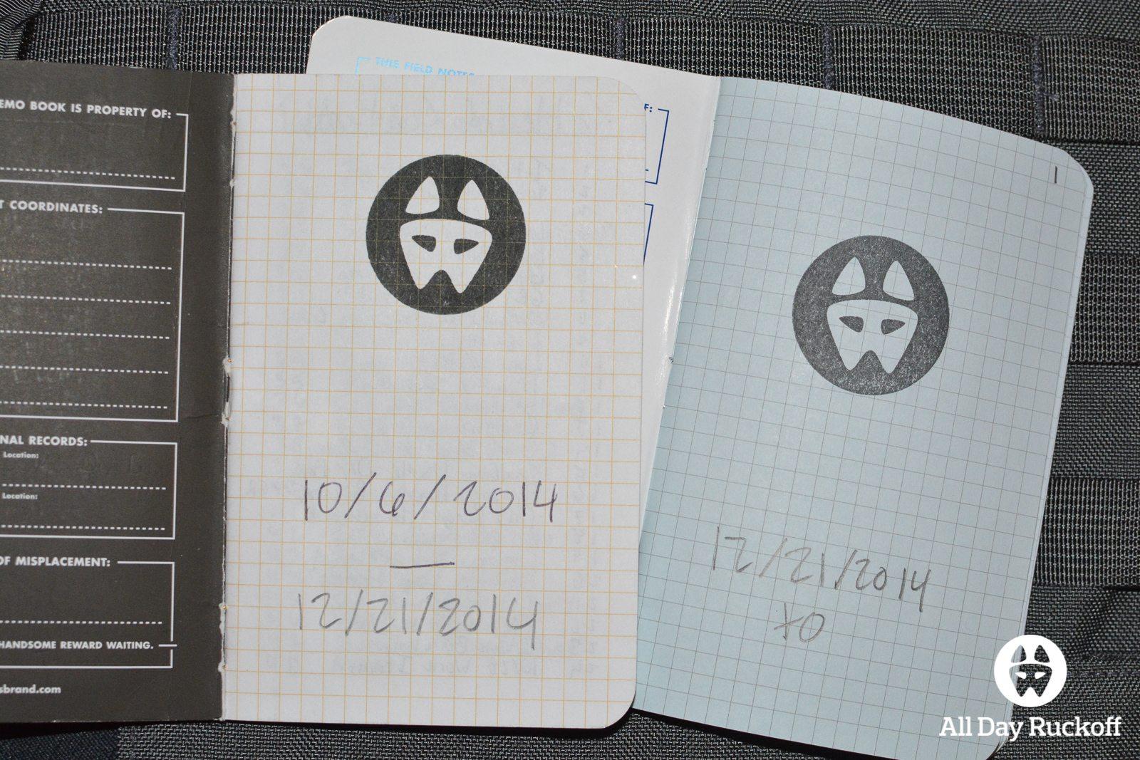 Notebooks Titles