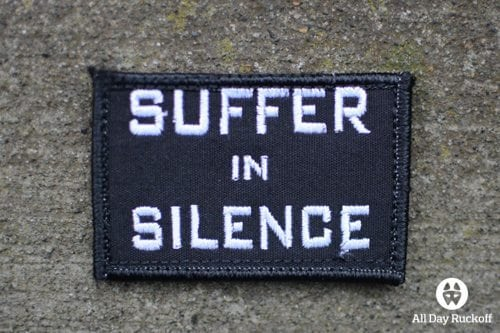 Suffer in Silence (White)