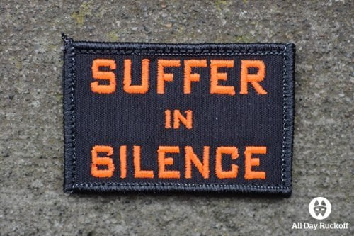 Suffer in Silence (Orange)