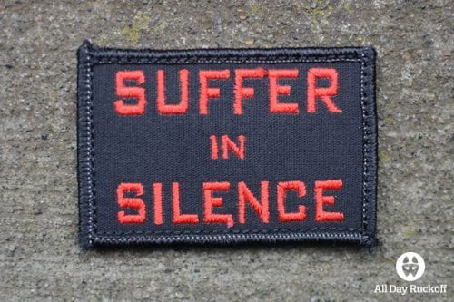 Suffer in Silence (Red)