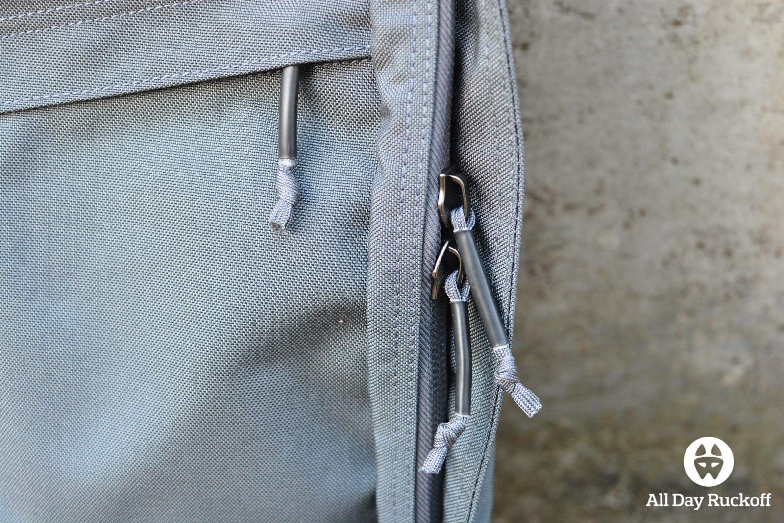 Wolf Grey GR1 Outside Zippers