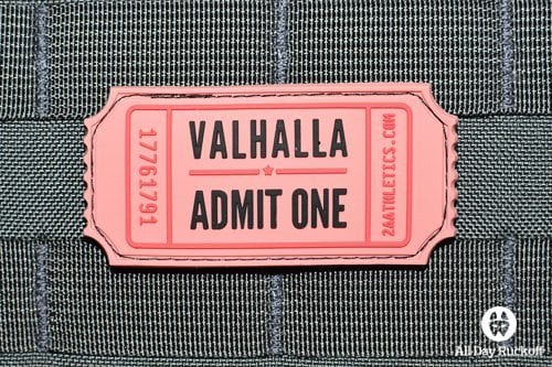 Valhalla Ticket (Full Color)