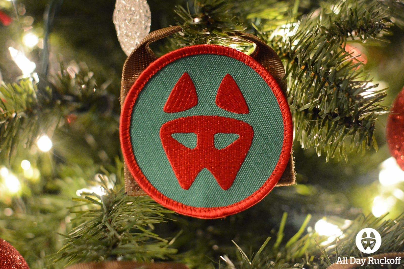 ADR Dog Logo (Christmas 2014) Ornament