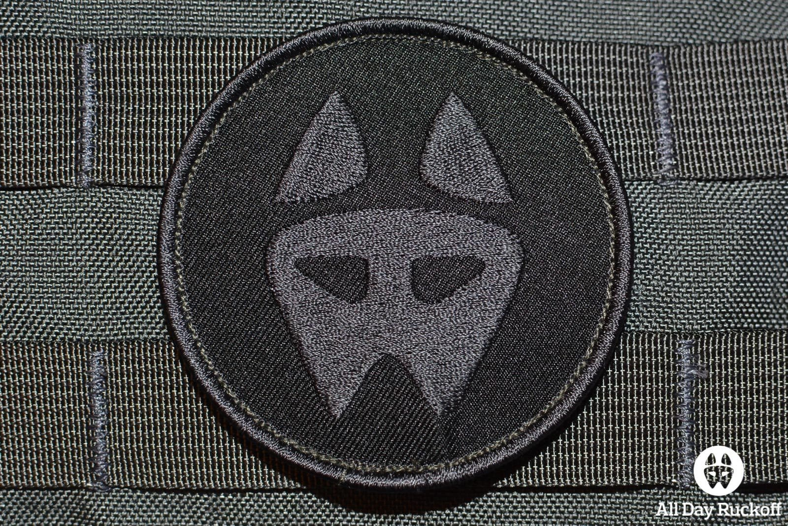 Dog Logo 02: Blackout