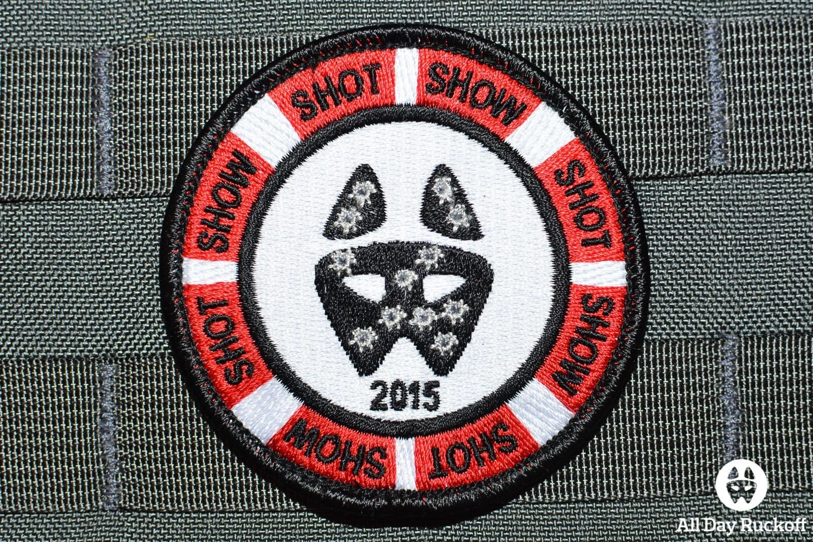 All Day Ruckoff SHOT Show 2015 Patch