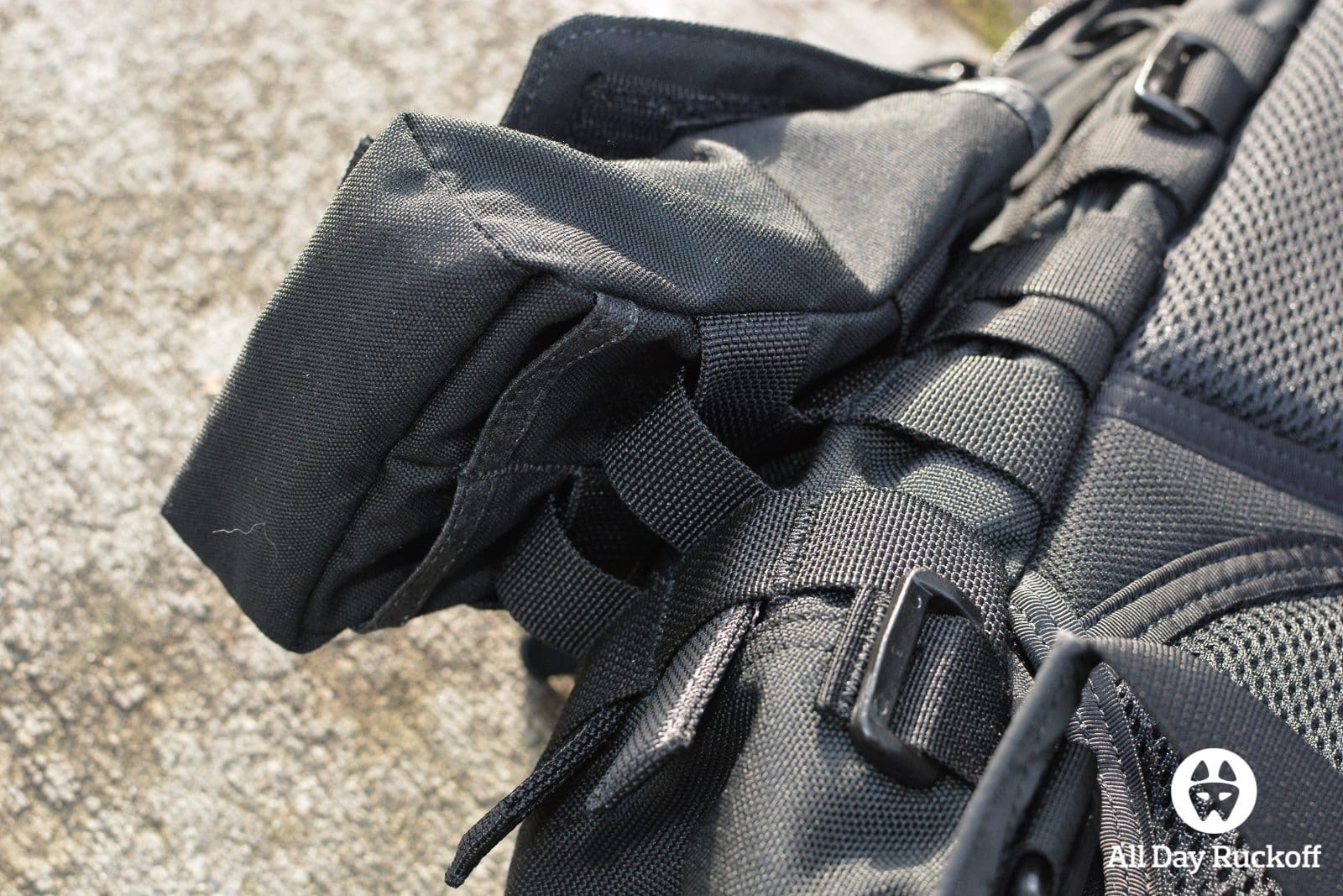GORUCK Side Pocket Attaching