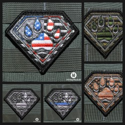 Paw of Steel Patches