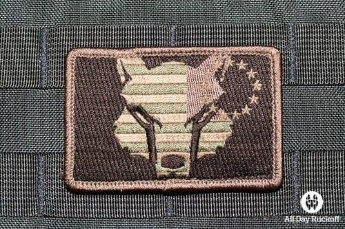 SFA Flag Reverse (Camo)