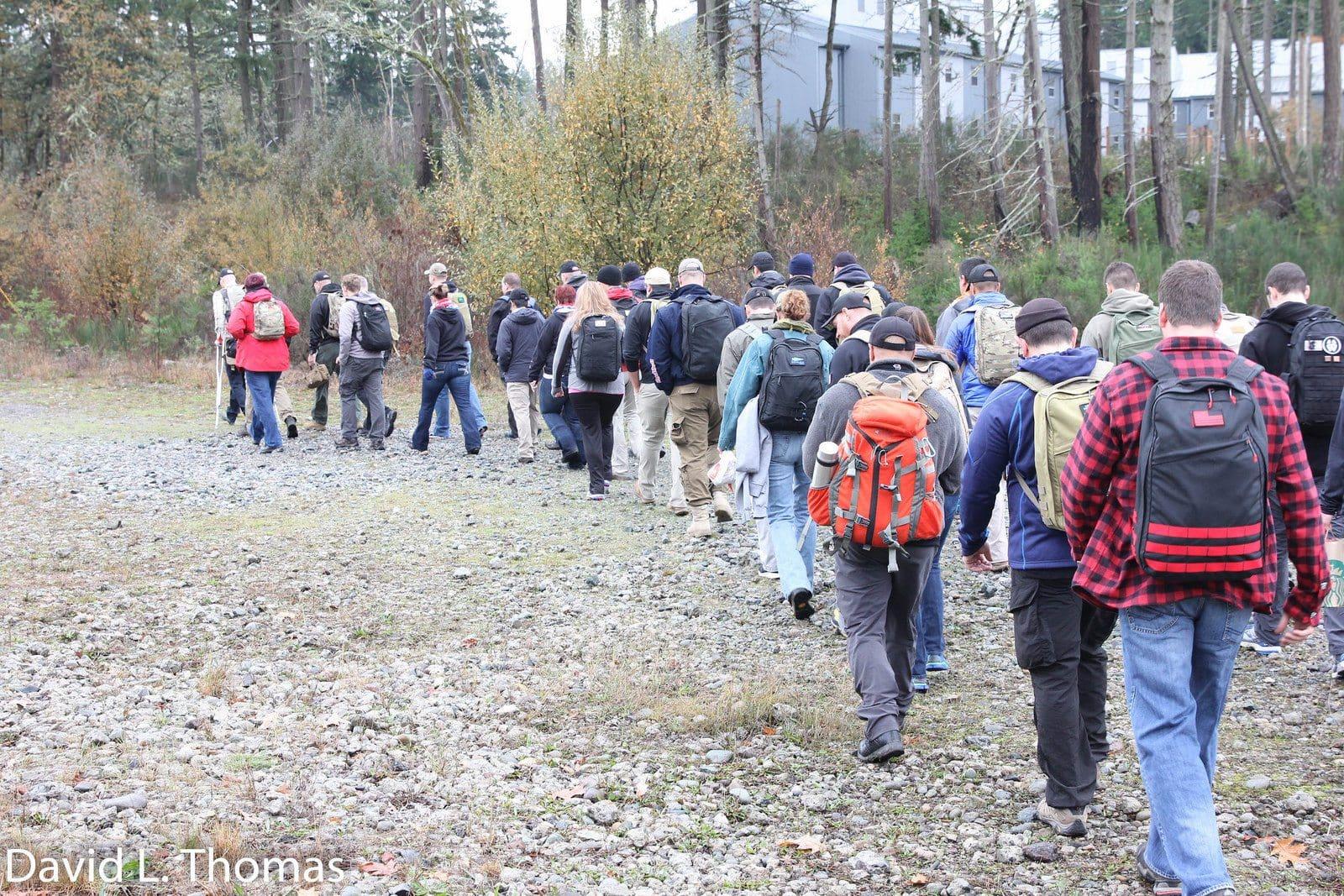 Arden Tough Range Walk