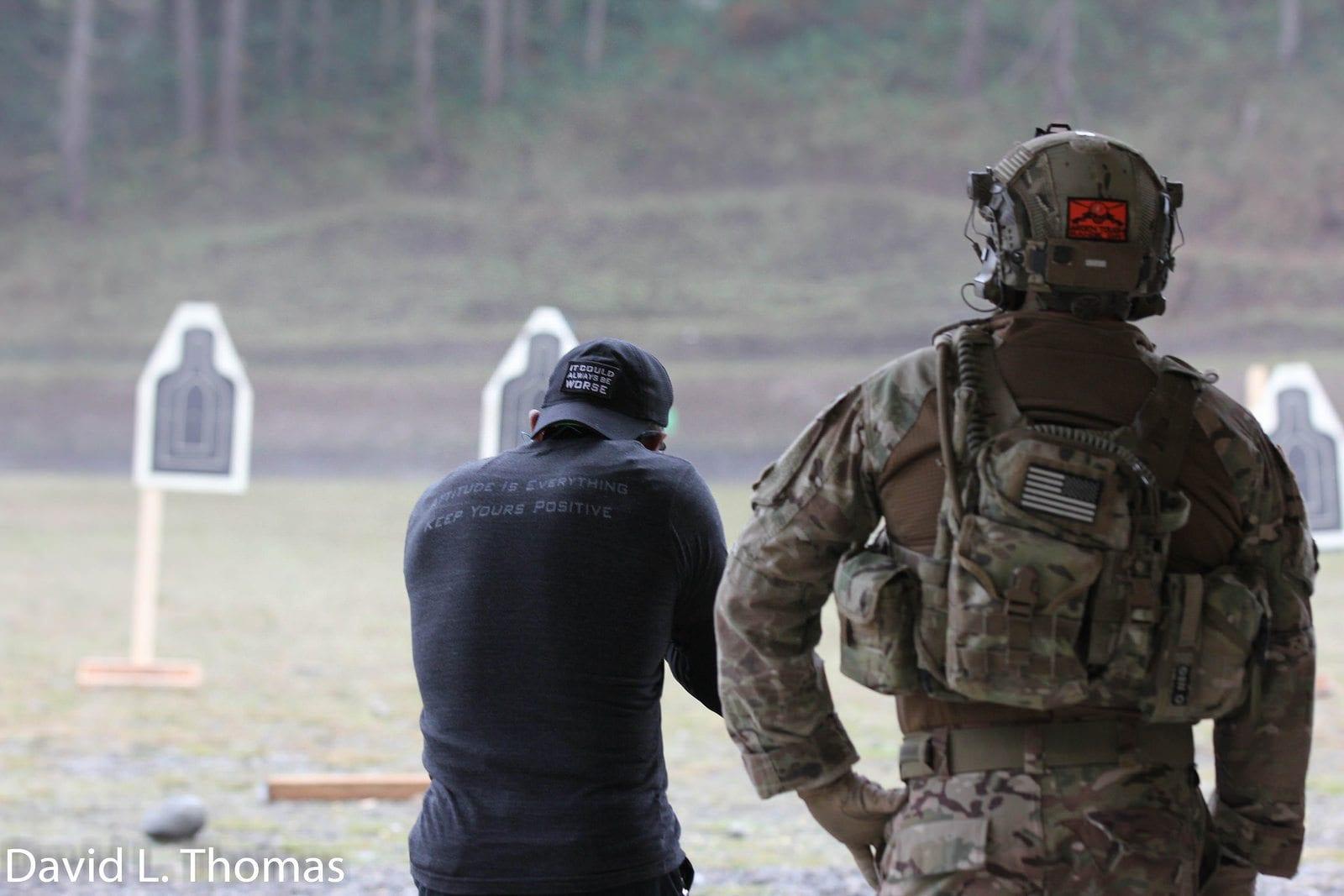 David Thomas Shooting