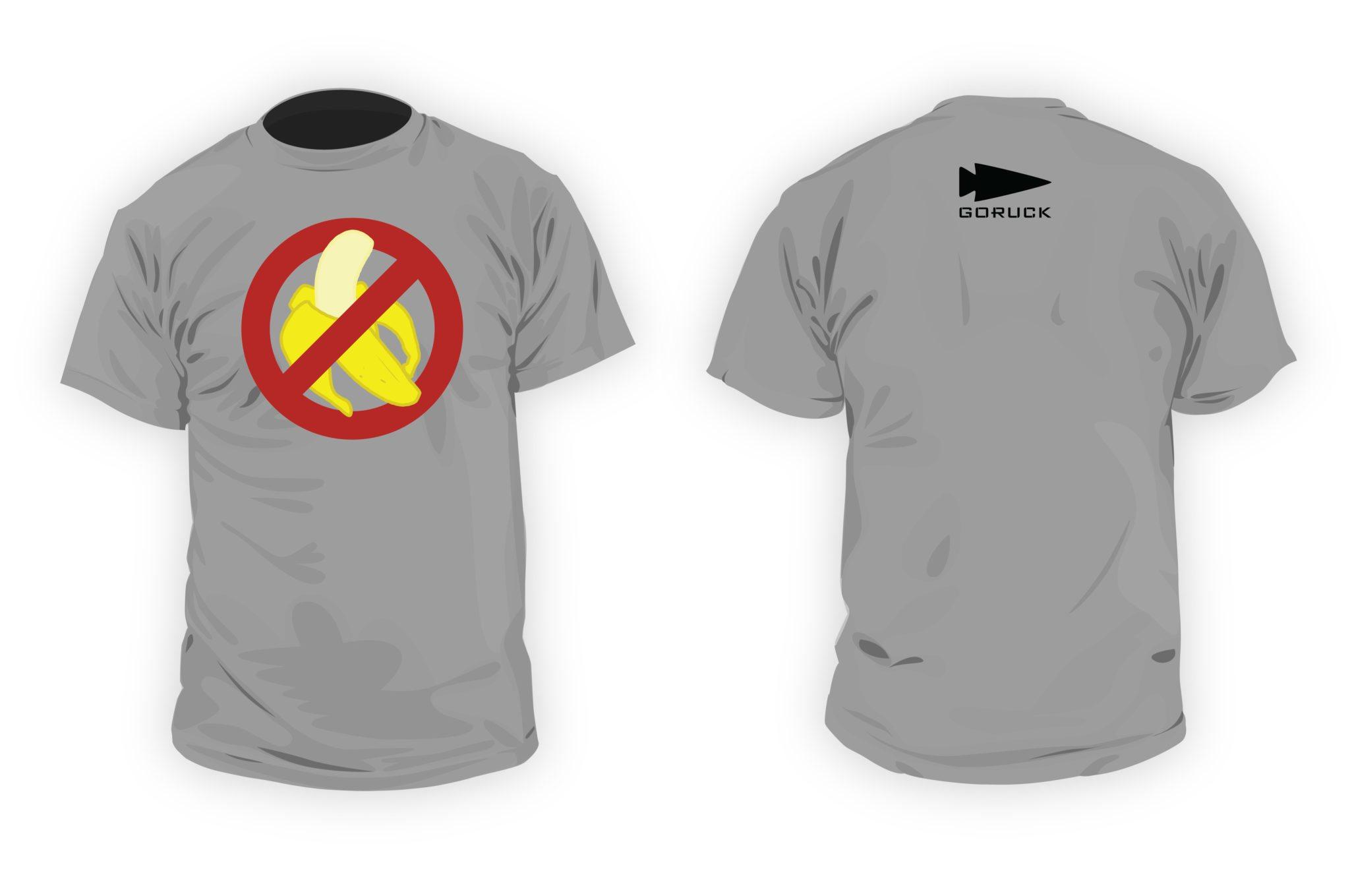GORUCK No Bananas Shirt